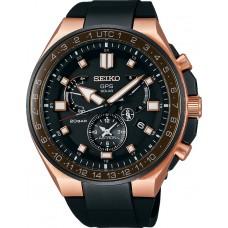 Мъжки часовник Seiko Astron GPS Solar Dual Time Executive Sports Line SSE170J1